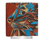 Color Cat II Shower Curtain