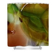 Color Chaotic Shower Curtain