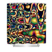 Color Cycles Shower Curtain