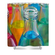Color Drink Shower Curtain