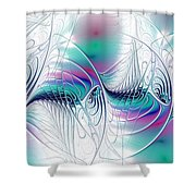 Color Elegance Shower Curtain