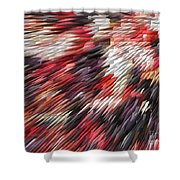 Color Explosion #02 Shower Curtain