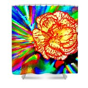 Color Extreme Shower Curtain