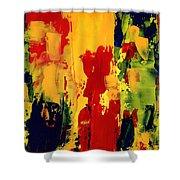 Color Fantasy Shower Curtain