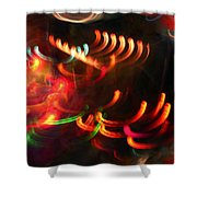 Color Light Motion Shower Curtain