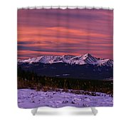 Color Of Dawn Shower Curtain