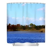 Color Of Fall Shower Curtain
