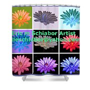 Color Of Lilies Shower Curtain