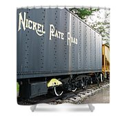 Color Of Nickel Shower Curtain