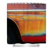 Color Of Rust Shower Curtain