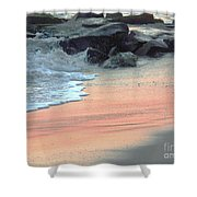 Color Of Sand Cape May Nj Shower Curtain