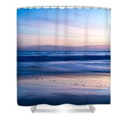 Color Of Sea And Sky Shower Curtain