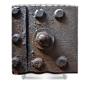Color Of Steel 3 Shower Curtain