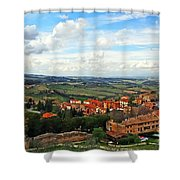 Color Of Tuscany Shower Curtain