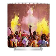 Color Run Shower Curtain