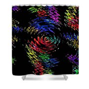 Color Spin Shower Curtain
