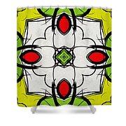 Color Symmetry  Shower Curtain