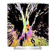 Color Trip Shower Curtain