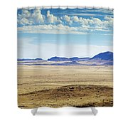Color View Of West Texas Shower Curtain