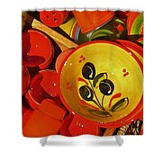 Color Your Life 5 Shower Curtain