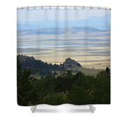 Colorado - Blue Shower Curtain