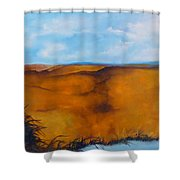 Colorado Autumn Shower Curtain