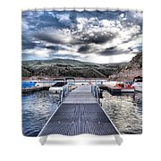 Colorado Boating Shower Curtain