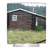 Colorado Cabin Shower Curtain
