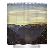 Colorado Canyon Morning Shower Curtain