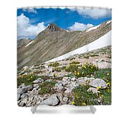 Colorado Elkhead Pass Shower Curtain