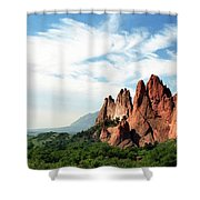 Colorado - Garden Of The Gods Shower Curtain