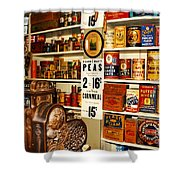 Colorado General Store Supplies Shower Curtain