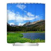 Colorado Lake Shower Curtain
