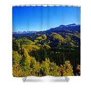 Colorado Landscape Shower Curtain