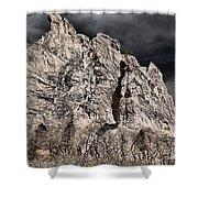 Colorado Monsoon Clouds Shower Curtain