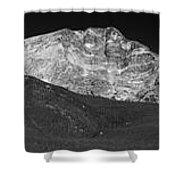 Colorado Mummy Range Shower Curtain