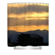 Colorado Old Homestead Shower Curtain