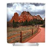Colorado Path To Paradise Shower Curtain