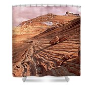 Colorado Plateau Sandstone Arizona Shower Curtain