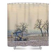 Colorado Pumpjack Shower Curtain