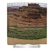Colorado River Gooseneck Shower Curtain