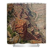 Colorado River In The Grand Canyon Shower Curtain