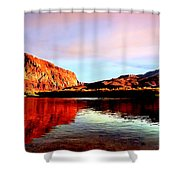 Colorado River Lees Ferry Painting Shower Curtain