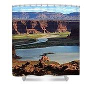 Colorado River Panoramic Shower Curtain