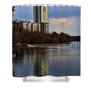 Colorado River Recreation Shower Curtain