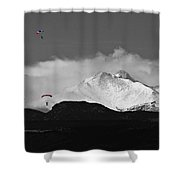Colorado Rocky Mountain High Shower Curtain
