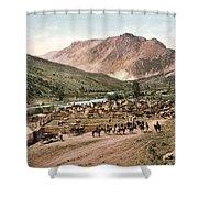 Colorado Roundup 1897 Shower Curtain
