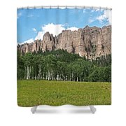 Colorado Side Of The Four Corners Area Shower Curtain
