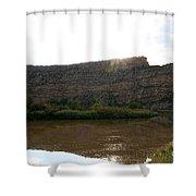 Colorado Sparkle Shower Curtain