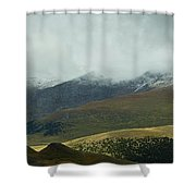 Colorado's Front Range Panorama Shower Curtain